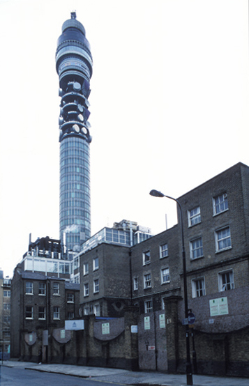 Cleveland St Workhouse Telecom Tower