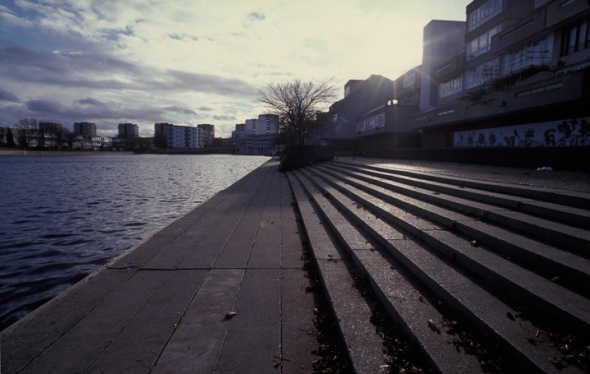 Thamesmead steps