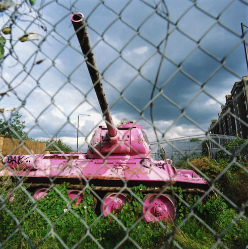 Pink Tank, Mandela Way, Old Kent Road