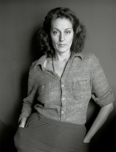 Germaine Greer, London, 1975