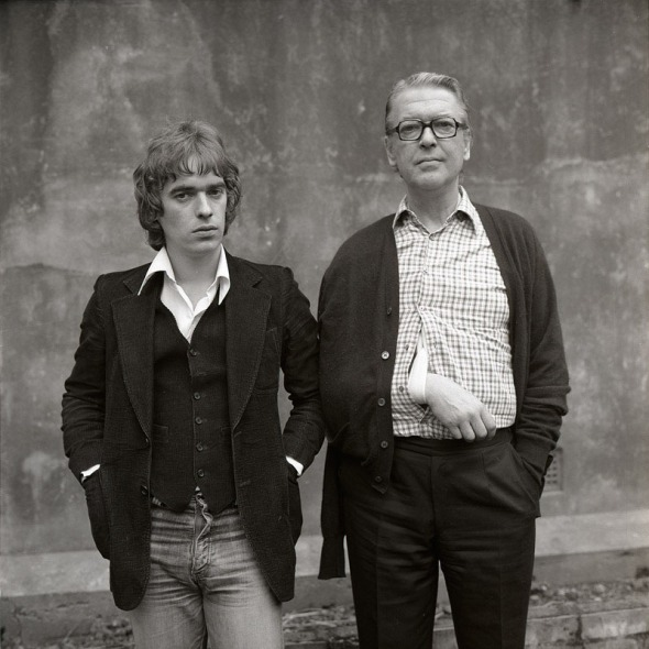 Kingsley & Martin Amis, London 1975