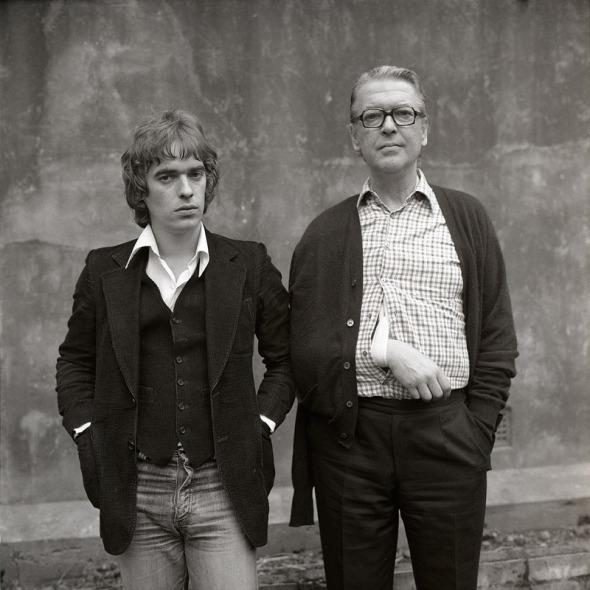 Kingsley & Martin Amis, London 1975