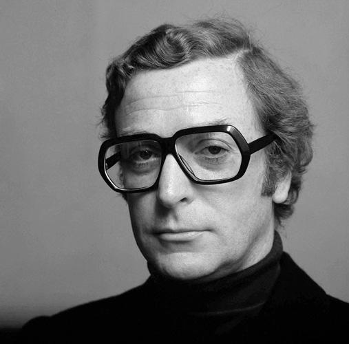 Michael Caine, London, 1973