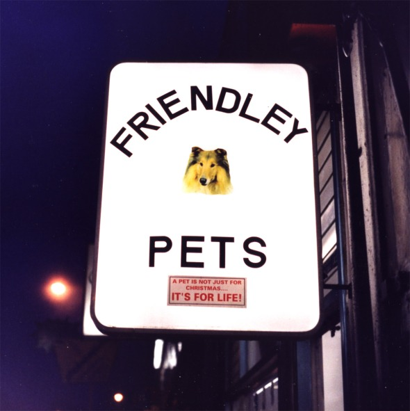 Pet shop sign, Brockley, 2003