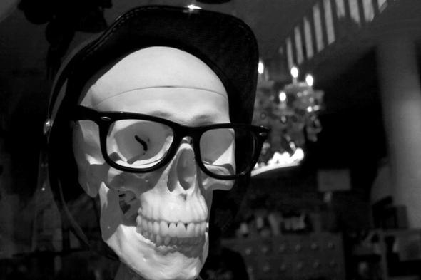 Skull bar Tim Marshall