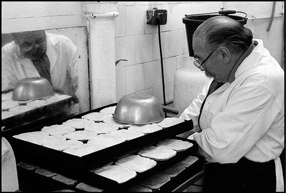 Pie & Mash shop, Brixton, London, 1988