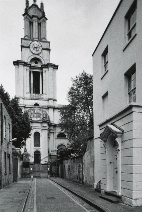 St Anne's Limhouse, London, 2010
