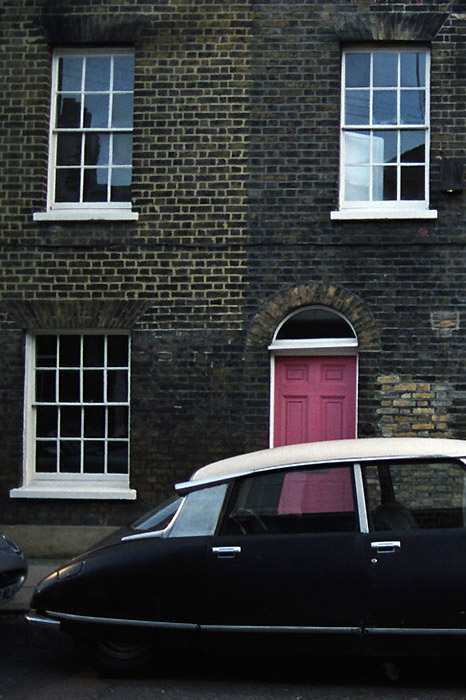 Citroen DS, Waterloo, London, 2011.