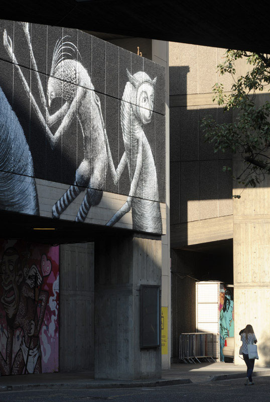 Graffiti, Southbank Centre, London, 2014.