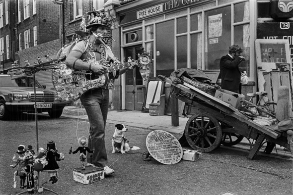 One Man Band, Brick Lane area, 1984