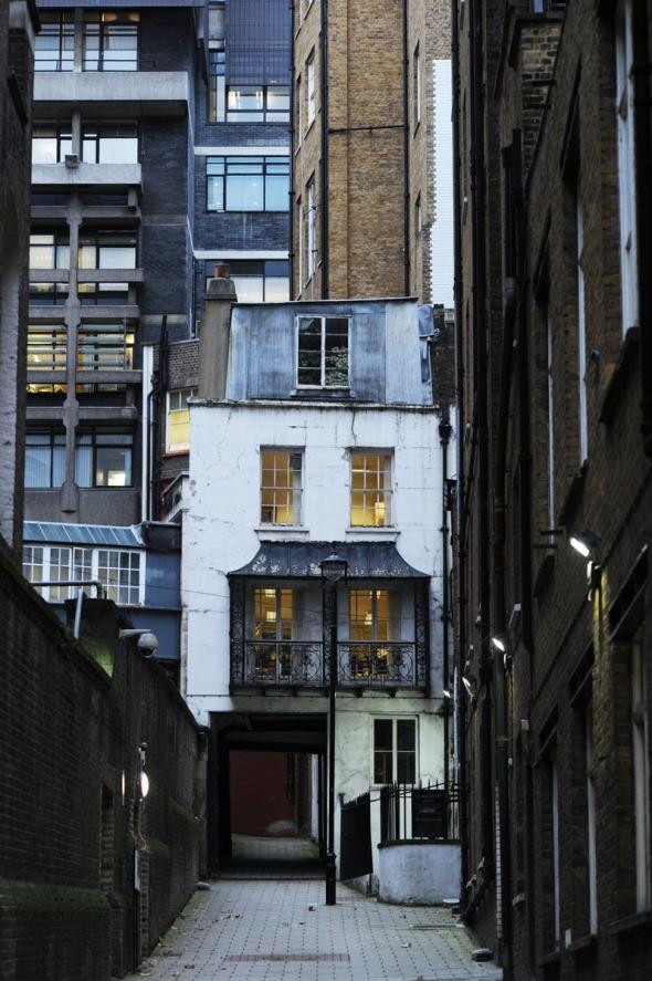 House on Strand Lane, London, 2014
