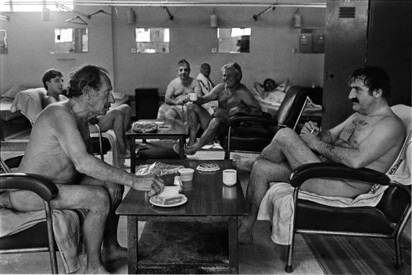 Turkish baths, Clapton, Hackney 1983.