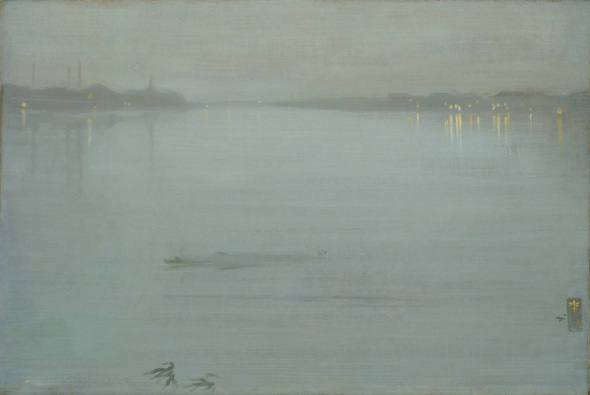 James McNeill Whistler: Nocturne: Blue and Silver - Cremorne Lights, 1872.