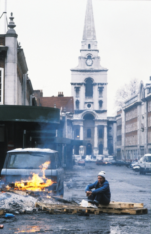 Christchurch and Spitalfields Market, 1990