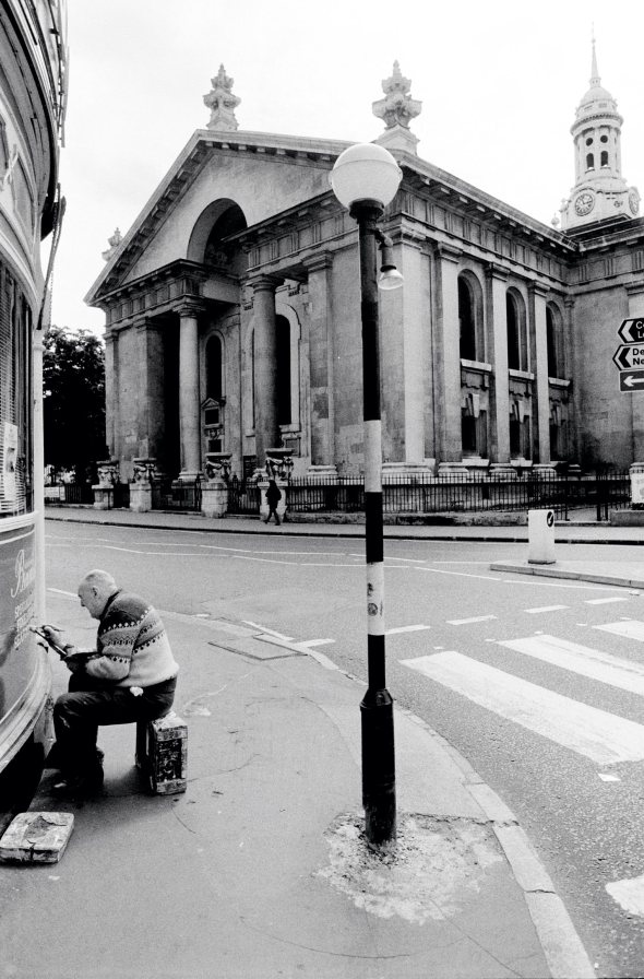 St Alfege Greenwich, London, 1988.