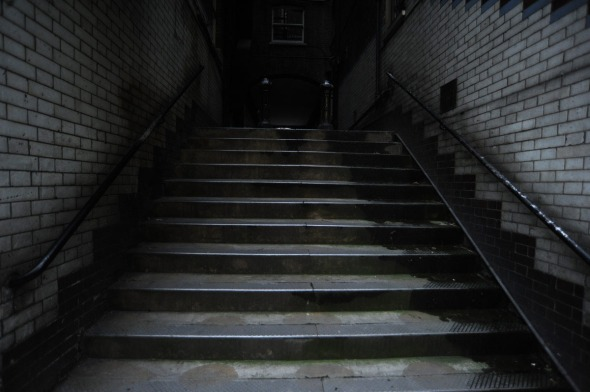 Surrey Steps, off Strand Lane, north of the Embankment, November 2014.